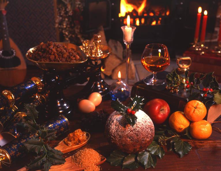 Art House Photo Design Food Christmas Pudding